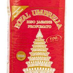 Royal Umbrella Riso Thai Hom Mali, Jasmine – 1000 gr – [confezione da 5]