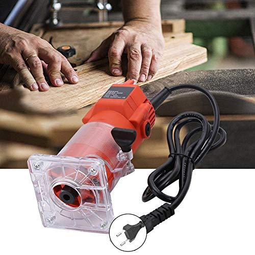 Trimmer per router elettrico, intaglio del legno Trimmer per legno elettrico con incisione Trimmer elettrico con 15 punte per router Tritacarne elettrico Trimmer per legno elettrico(#1) 4