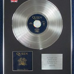Queen–Limited Edition CD Platinum LP Disc–Greatest Hits 11