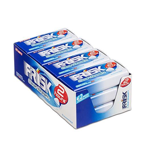 Frisk Peppermint Caramelle alla Menta, Mentine Senza Zucchero per Freschezza a Lungo – 12 astucci
