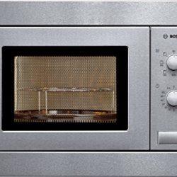 Bosch HMT 72 650, Forno a microonde con grill in acciaio inox, Argento 3