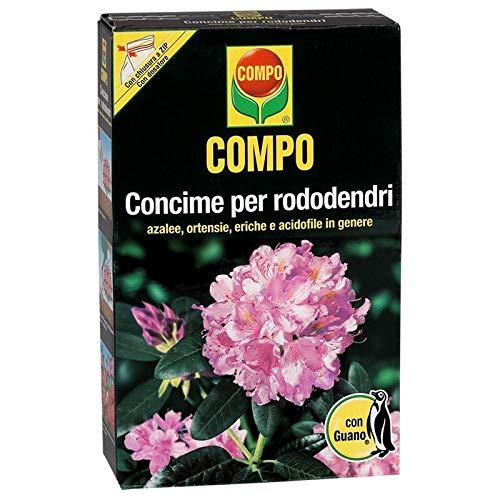 Compo 1270712005 Concime per Rododendri con Guano, 3 kg, Marrone, 9.4×18.3×32 cm