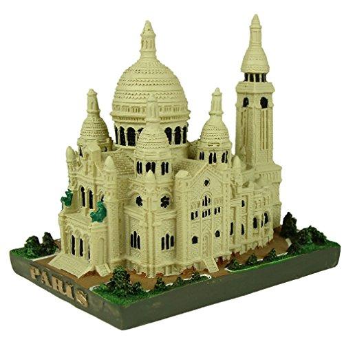 Ricordi di Francia–sacré-coeur di Parigi in miniatura in resina 2