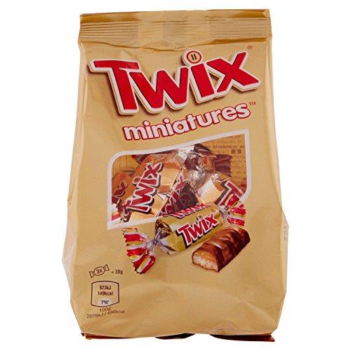 Mars Miniatures Cioccolato al Latte Ripieno con Caramella Mou e Malto – 130 g