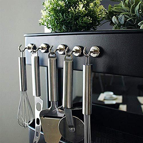 Wukong 30 Pezzi Magnete Neodimio Cilindrici,Magnete da Frigorifero Calamita da bacheca Magnete Permanente Magnete per Lavagna interattiva,15×4 mm