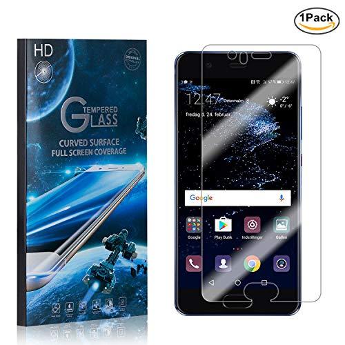 The Grafu® Huawei P10 Vetro Temperato, Antigraffio Pellicola Protettiva in Trasparente Vetro Temperato per Huawei P10, Senza Bolle, 9H Durezza, 1 Pezzi