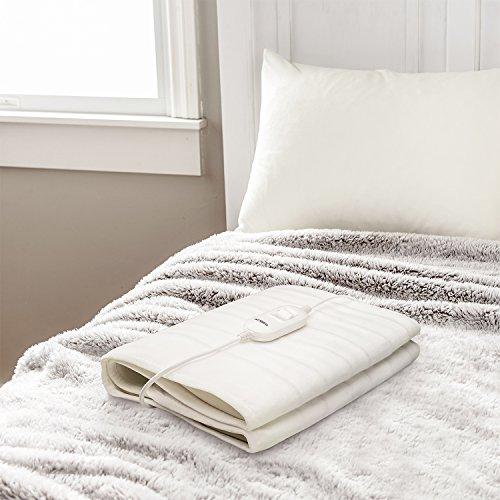 Wintem Encanta+ Coprimaterasso termico Scaldaletto coperta termica elettrica con 3 livelli di temperatura Termocoperta singola o matrimoniale 2