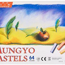 Mungyo, gessi rettangolari atossici, color pastello, confezione da 64, colori assortiti (B441R078-7003A)