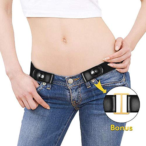 Womdee Cintura Donna Elastica Senza Fibbia – Cintura Elastica Invisibile (40 Pollici Regolabile), più Salute per La Vita Cintura Elastica Invisibile Senza Fibbia per Qualsiasi Taglia 6