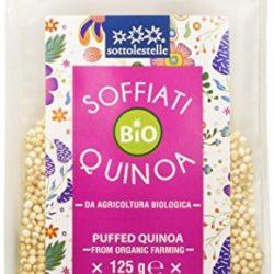 Sottolestelle Quinoa Soffiata – 8 confezioni da 125gr – Totale  1 kg