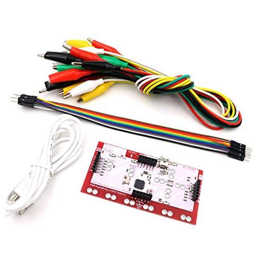 Asiawill MK Set Kit scheda di controllo deluxe con cavo USB Clip per alligatore Dupont Line per bambini
