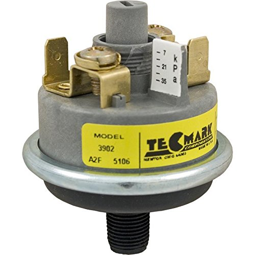 Tecmark 3902 Universal Series Pressure Switch 25A Sans Brass Fitting