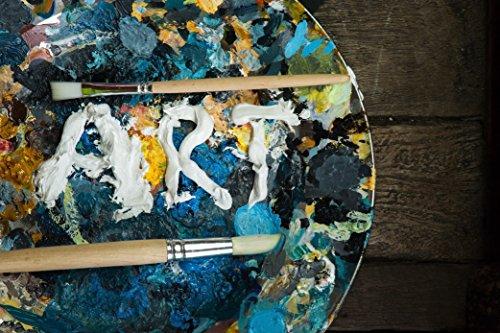 Crafts 4 All – Pittura acrilica professionale, set da colori acrilici XL (75 ml), kit per pittura su tela, legno, argilla, tessuto, unghie, ceramica e artigianato. Per studenti e professionisti 10