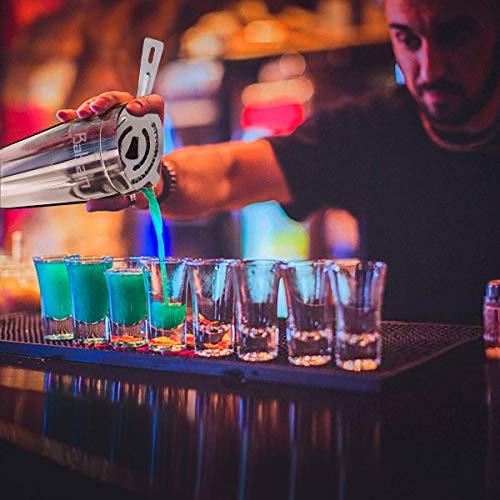 Baban set cocktail 10 pezzi,kit barman,Shaker per Cocktail 750ML set cocktail professionale,Compreso Squisita cornice in legno;Shaker per Cocktail;completo Set di Regalo 5