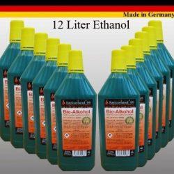 Alte prestazioni bio-alcool bio etanolo – da 5, 12, 24 litri per camini (24 litri) 2