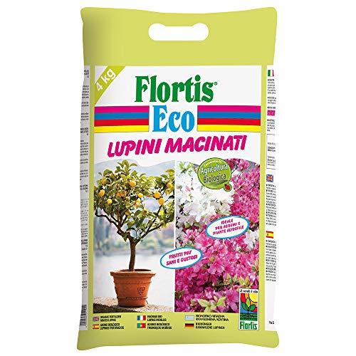 Flortis Lupini Macinati Eco – Fertilizzante Biologico per Piante di Limone, Agrumi, Orchidee, Gerani e Acidofile in Generale. Sacco da 4 kg BIO. 2