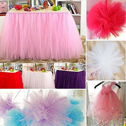 Runner da tavolo in tessuto non tessuto, 1 rotolo 25 m x 30 cm, tessuto decorativo, nastro da tavola, decorazione per matrimonio, battesimo, comunione, compleanno.