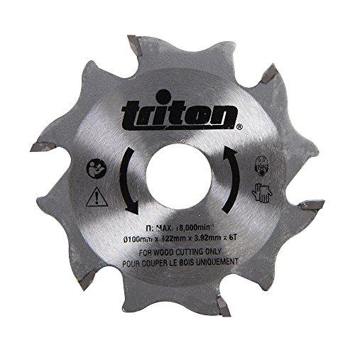 Triton TDJ600 Lama per Fresatrice Lamellare 100 mm, 0 W, 0 V, Arancione