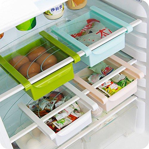 Uzinb Multi Function ABS Refrigerator Storage Box Sliding Drawers Design Storage Box 7