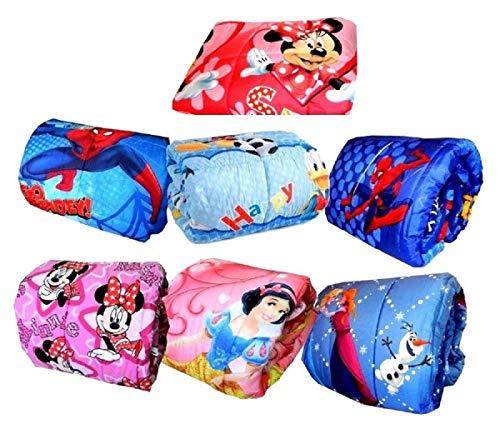 Menita shop Trapunta PIUMONE Letto Singolo Personaggi Cartoni Spiderman Frozen Minnie Smile Topolino Cars Minions Paw Patrol