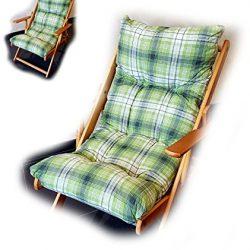 Totò Piccinni Cuscino Imbottito di Ricambio per Poltrona Sedia Sdraio Harmony Relax, 105x55x14cm 2