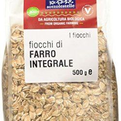 Sottolestelle Fiocchi di Farro – 8 confezioni da 500gr – Totale  4 kg 2