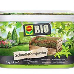 Compo Bio Composter rapido 3kg, Verde, 17.5x 17.5x 15.6cm, 20825