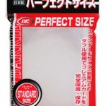 KMC – KMC 100 pochettes Card Barrier Perfect Size Soft Sleeves