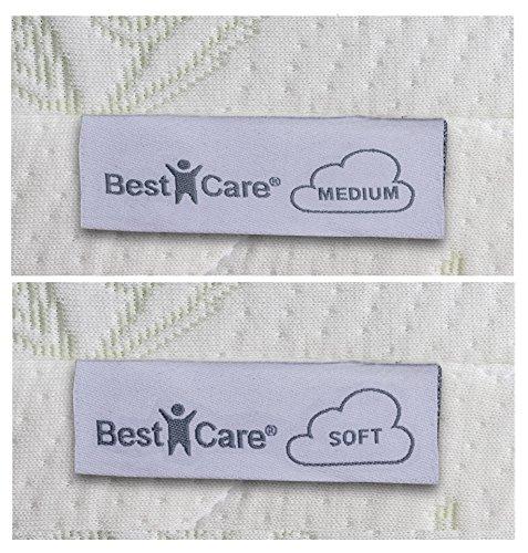 BestCare ® – Prodotto EU, Materasso termoelastico Visco per neonati e bambini, con Memory Foam per un miglior comfort del sonno 7