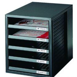 woodluv cassettiera Bamboo Desktop A4Sturdy Stationary Storage Gioielli Artigianali