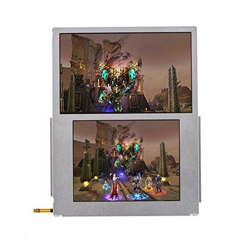 Kafuty Schermo di Sostituzione del Vetro LCD, Display ad Alta Definizione, Installazione Facile, Sostituzione su e Giù appositamente per la Parte Nintendo 2DS 2