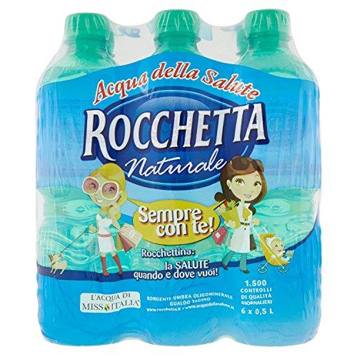 Vitasnella Acqua Oligominerale Naturale – Confezione da 6 x 500 ml