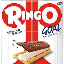 Pavesi Snack Ringo Vaniglia Formato Famiglia, Snack per Merenda o Pausa Studio – Confezione da 6 X 55g
