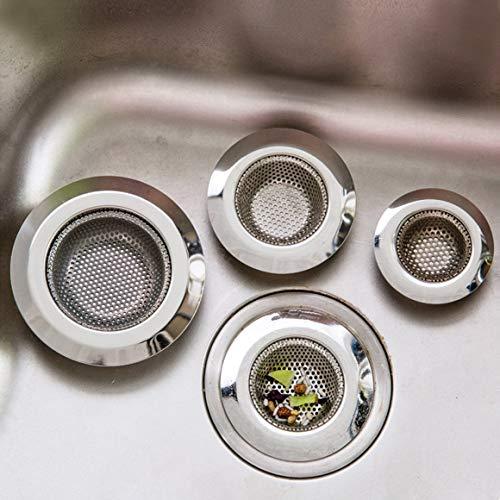 Funnyrunstore Stainless Steel Kitchen Sink Drain Filter (L)