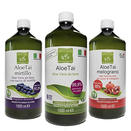 Esi Aloe Vera Succo al Mirtillo Integratore Alimentare – 1 l