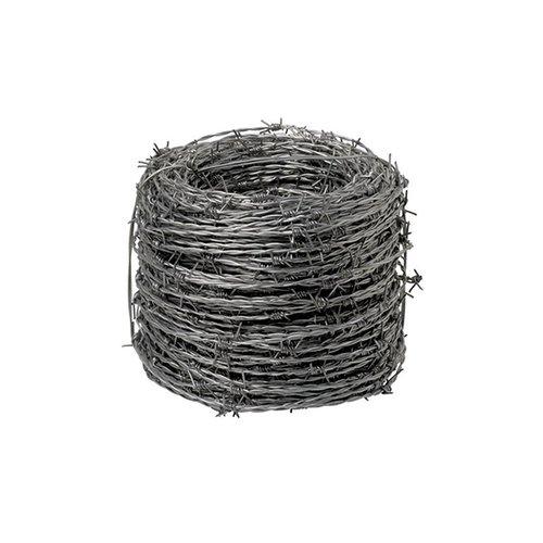 Wolfpack 1130001–filo spinato zincato 4/15, Rotolo da 100metri