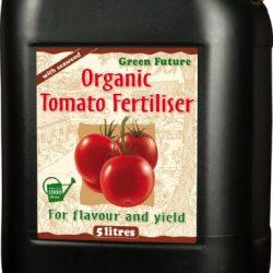 Growth Technology Fertilizzante Naturale per pomodori Green Future 5 L, Nero, 16x18x24.5 cm