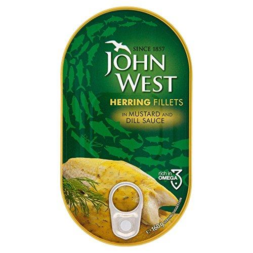 John West Filetti Di Aringhe In Senape E Aneto 160g (Confezione da 2) 2