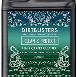 Dirtbusters, Clean & Protect 4in 1,concentrato 5litri, soluzione detergente professionale 2