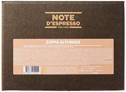 Note D'Espresso Preparato per Zuppa ai Funghi in Capsule – 420 g (30 x 14 g) Esclusivamente Compatibili con le macchine a capsule Nescafé* e Dolce Gusto* 7