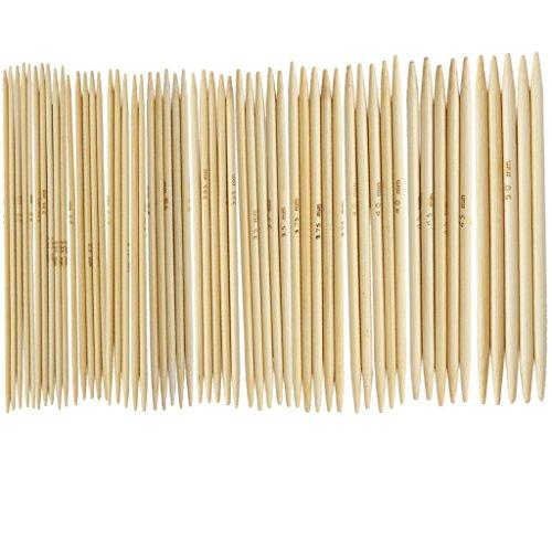 """TOOGOO(R) 11 Set aghi 4.9 """"guanti di bambu' maglia 2,0 – 5,0 mm US 0-8"""