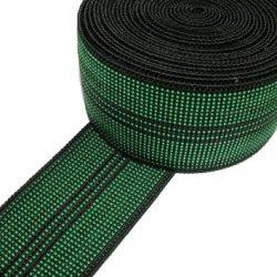 Pandoras Upholstery – Fettuccia Elastica per Sedia/Divano, 10 m, Colore: Verde