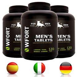 Blue Max® – Strong Da 130 Milligrammi – Alterazione Dei Livelli Di Testosterone – Booster Naturale Anche Per Giovani Per Risultati Eccellenti – 10 Pillole