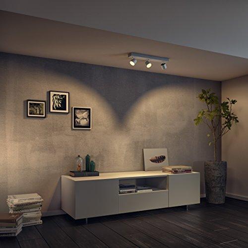 Philips Lighting Star Lampada 3 Faretti LED Integrato Orientabili, Alluminio, 3 x 4.5 W 7