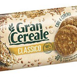 Gran Cereale Biscotti Gran Cereale alla Frutta, Biscotti dal Gusto Pieno Ricchi di Fibra e Fosforo – 250 g