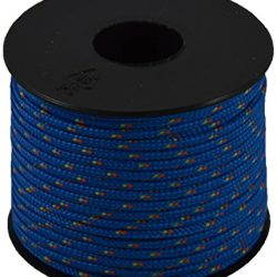 Corderie Italiane 006037774 Cordino Colorato Hobby Fantasy, Azzurro, 2 mm, 50 m