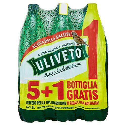 12 Bottiglie LETE Acqua Minerale Effervescente Naturale 1.5L 2