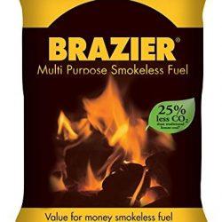 Brazier combustibili Multiuso Carburante Senza Fumo, 10kg 2