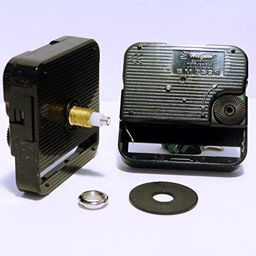 Wellgain BM2328 / HQ3268 – Orologio con meccanismo con movimento al quarzo, fai da te, accessori per il montaggio, medio, lunghezza totale del perno: 17 mm