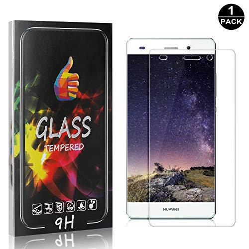 1 Pezzi Huawei P8 Lite 2015/2016 Vetro Temperato, SONWO Alta trasparente Pellicola Protettiva per Huawei P8 Lite 2015/2016 Display Proteggi Schermo